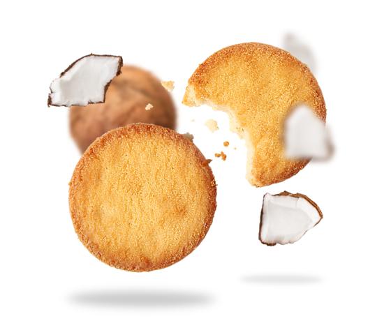 Senza zuccheri biscotti con farina tipo2 al cocco 624 236