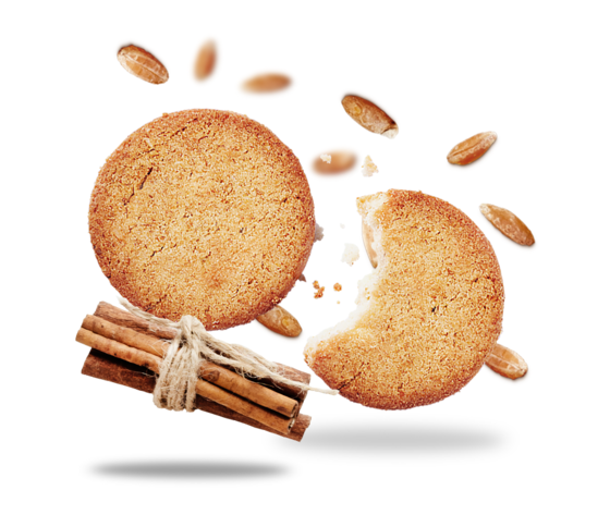 Senza zuccheri biscotti di farro int alla cannella 627 241