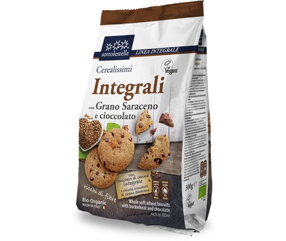 Cerealissimi saraceno integrale e gocce cioccolato 752 652