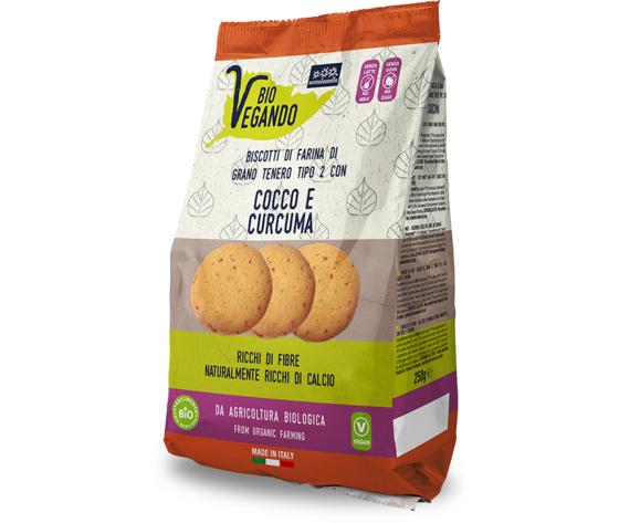 Biovegando biscotti con cocco e curcuma 733 623