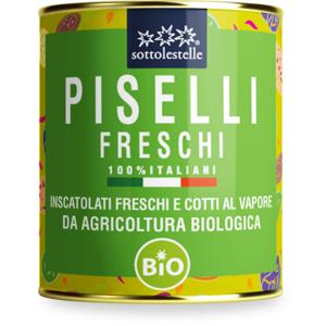 Sotto Le Stelle Piselli Freschi Italiani Bio