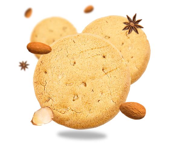 Biovegando biscotti farro con mandorle e cannella 736 626