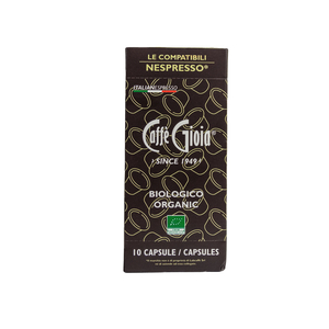 Caffè Gioia 100% Arabica Perù Bio Cap. Nespresso