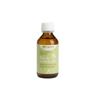 La Saponaria Olio di Mandorle dolci Bio 100ml