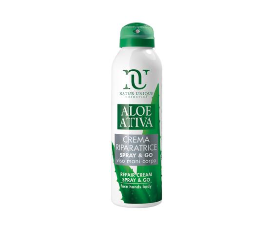 Aloe attiva spray bomboletta