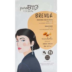PuroBio forSKIN Brenda Maschera Viso in Crema per Pelle Secca 10ml