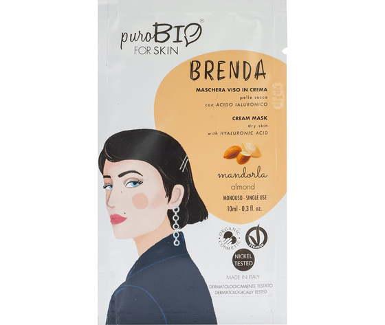 Purobio cosmetics forskin brenda maschera viso in crema per pelle secca anniversary2019 01 mandorla 1170958 it