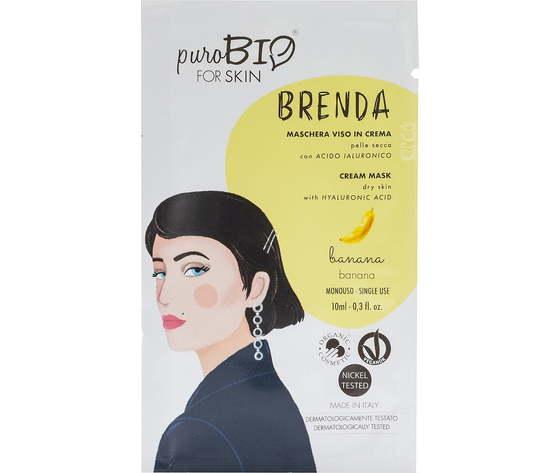 Purobio cosmetics forskin brenda maschera viso in crema per pelle secca anniversary2019 02 banana 1170968 it