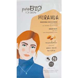 PuroBio forSKIN Miranda Maschera Viso in Crema per Pelle Grassa 10ml