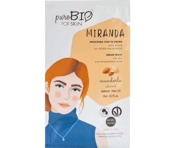 Purobio cosmetics forskin miranda maschera viso in crema per pelle grassa anniversary2019 04 mandorla 1170898 it