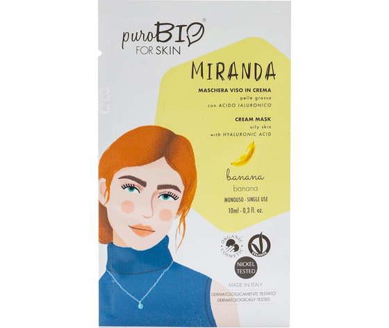 Purobio cosmetics forskin miranda maschera viso in crema per pelle grassa anniversary2019 05 banana 1170888 it