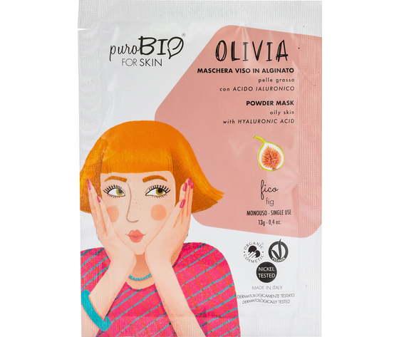 Purobio cosmetics forskin olivia maschera viso in alginato per pelle grassa anniversary2019 11 fico 1170868 it