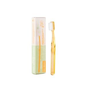 La Saponaria Bio & Smile Spazzolino Fibra Vegetale per Bimbi colore Albicocca