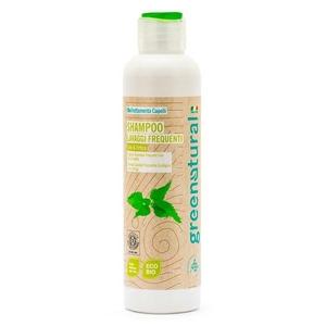 Greenatural Shampoo Lav.Frequenti Lino & Ortica Bio 250ml