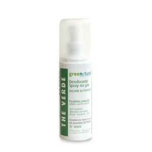Greenatural Deo No-Gas Allume Potassio Te' Verde 100ml