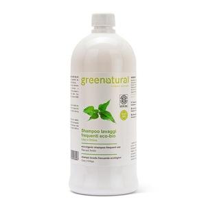 Greenatural Shampoo Lavaggi Frequenti Lino & Ortica Bio 1lt