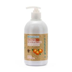 Greenatural Detergente Intimo Sensitive Ph 5.5 Bio 500ml