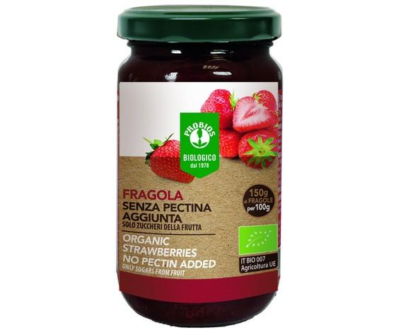 Composta di fragole senza pectina aggiunta 220g