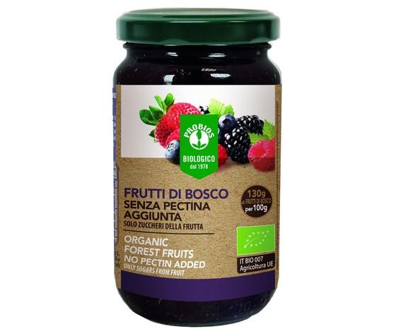 Composta di frutti di bosco senza pectina aggiunta 220g