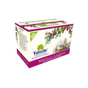 Valverbe Infuso Mirtillo e Lampone Bio 20 filtri