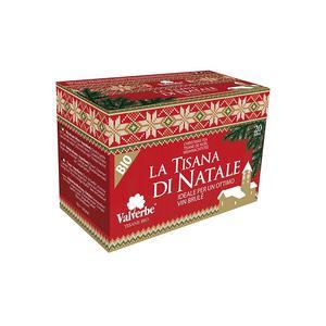 Valverbe La Tisana di Natale Bio 20 filtri