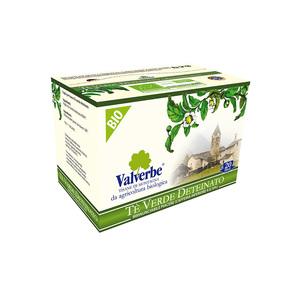Valverbe Te' Verde deteinato Bio 20 filtri