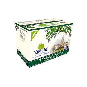 Valverbe Te' Verde e Menta Bio 20 filtri
