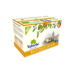 Valverbe Tisana Relax Tiglio e Arancio Bio 20 filtri