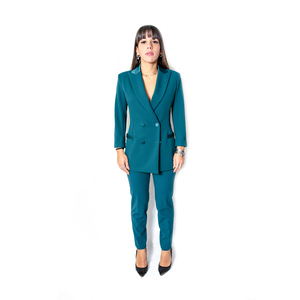 JIJIL Pantalone Verde Scuro