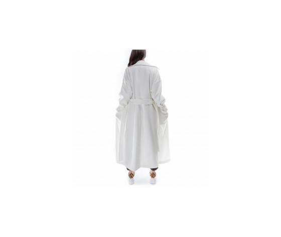 Jijil cappotto donna lungo bianco 2915350