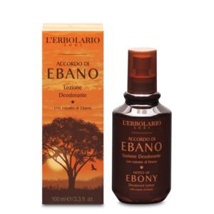 Lozione Deodorante Accordo di Ebano