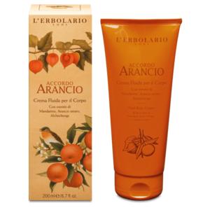 Crema Fluida per il Corpo Accordo Arancio