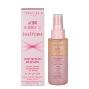 Spray Bifasico MilleVirtù Acido Ialuronico Luce&Volume