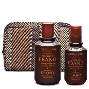 Beauty-Set Corpo Accordo di Ebano
