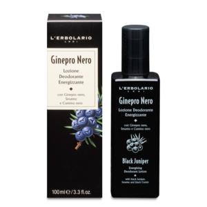 Lozione Deodorante Energizzante Ginepro Nero