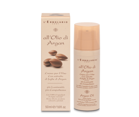 Crema viso olio di argan