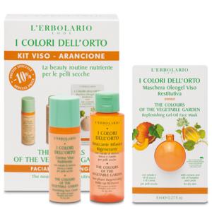 Kit Viso Arancione I Colori dell'Orto