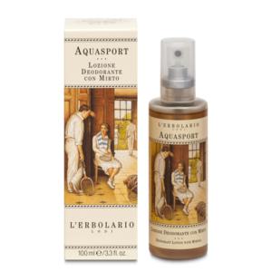 Aquasport Lozione Deodorante con Mirto