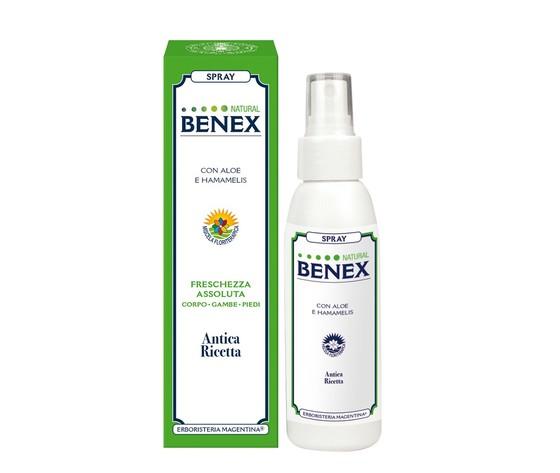 Spray natural benex gambe leggere fresco circolazione