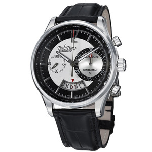 PAUL PICOT GENTLEMAN QUANTICOLOR CHRONOGRAPH 42 mm Automatic Black Dial 2134QS