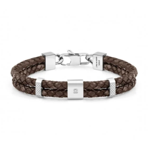 NOMINATION BRACCIALE TRIBE Doppio In Pelle Vintage Collection Tribe 026435 003