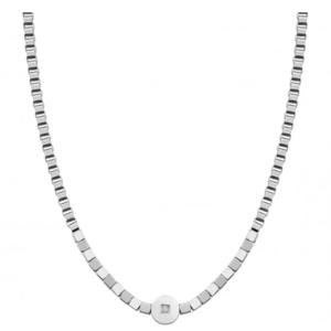 NOMINATION COLLANA VOYAGE in acciaio con pietra 022522 001
