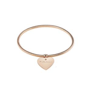 SALVINI MINIMAL POP Bracciale CUORE in oro rosa e diamante 20072989