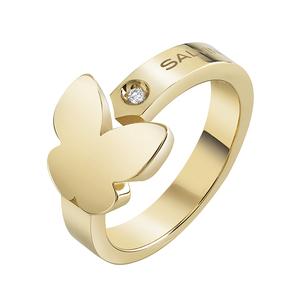 SALVINI I SEGNI Anello in oro giallo con diamante 20081184