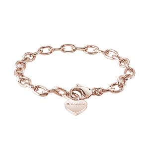 SALVINI CHARMS OF LOVE Bracciale in argento rosa con diamante e cuore 20075269