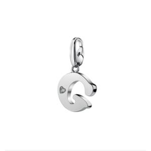 SALVINI CHARMS OF LOVE Ciondolo LETTERA G in argento con diamante 20077299
