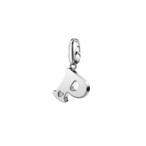 SALVINI CHARMS OF LOVE Ciondolo LETTERA P in argento con diamante 20077305