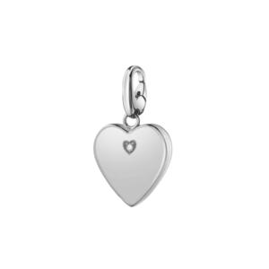 SALVINI CHARMS OF LOVE Ciondolo CUORE in argento con diamante 20077082