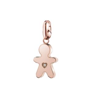 SALVINI CHARMS OF LOVE Ciondolo BIMBO in argento rosa con diamante 20077078