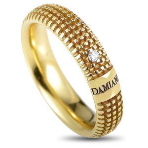 DAMIANI METROPOLITAN  ANELLO/FEDE MATRIMONIALE Oro Giallo Misura 16 con diamante 0.01 H 20031891